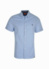 Picture of Thomas Cook Men Adams Tailor Short Sleeve Shirt  Navy