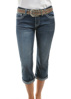 Picture of Pure Western Women's Montana Capri 3/4 Jeans