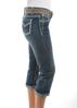 Picture of Pure Western Women's Montana Capri 3/4 Jeans
