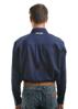 Picture of Wrangler Men's Barrington Drill L/S Shirt Navy