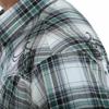 Picture of Wrangler Men Rock 47 Long/Sleeve Shirt Black White