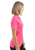 Picture of Thomas Cook Women's Bamboo 1-pocket Short Sleeve Polo Pink