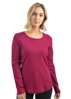 Picture of Thomas Cook Women's Curved Hem Long Sleeve Top