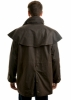Picture of Thomas Cook High Count Pro Oilskin Short Coat Brown