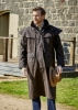 Picture of Thomas Cook High Count Pro Oilskin Long Coat Brown