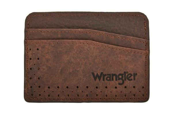 Picture of Wrangler Men Mareeba Card Wallet Coffee