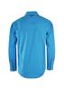 Picture of Pure Western Men Devon Print L/S Bright Blue