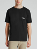 Picture of R.M.Williams Men's Byron T-Shirt Black/White