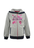 Picture of Pure Western Girls Priscilla Zip Through Hoodie  Light Grey Marle