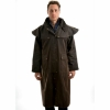 Picture of Thomas Cook High Count Pro Oilskin Long Coat Mulch