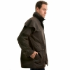 Picture of Thomas Cook High Count Pro Oilskin Short Coat Mulch