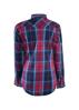 Picture of Wrangler Women Western Loretta Shirt Pink/Blue