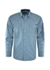 Picture of Wrangler Men Russell Print Long Sleeve Shirt