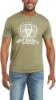 Picture of Ariat Men's Shield S/S T-Shirt Military Heather